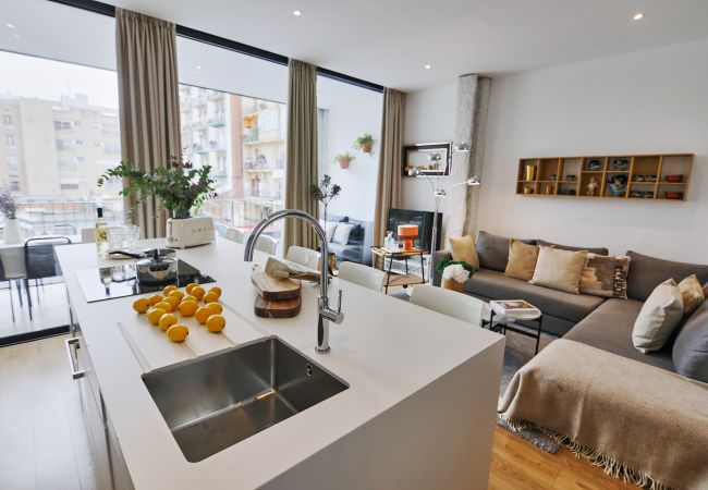 Appartement à Barcelona - PRIVATE TERRACE, 3 BEDROOM APARTMENT