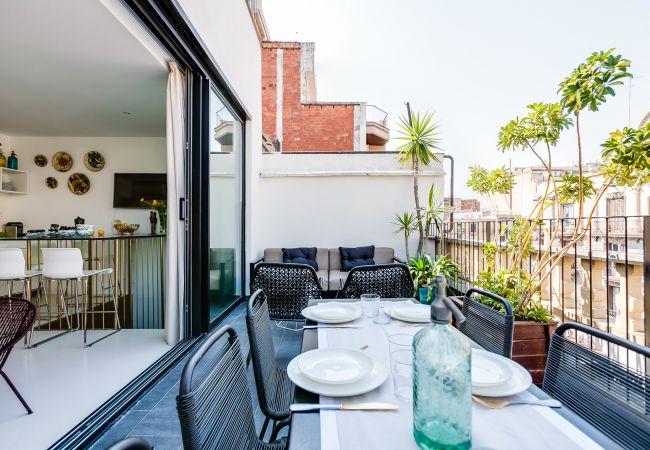 Apartment in Barcelona - CASA FLORIDA PENTHOUSE DUPLEX II