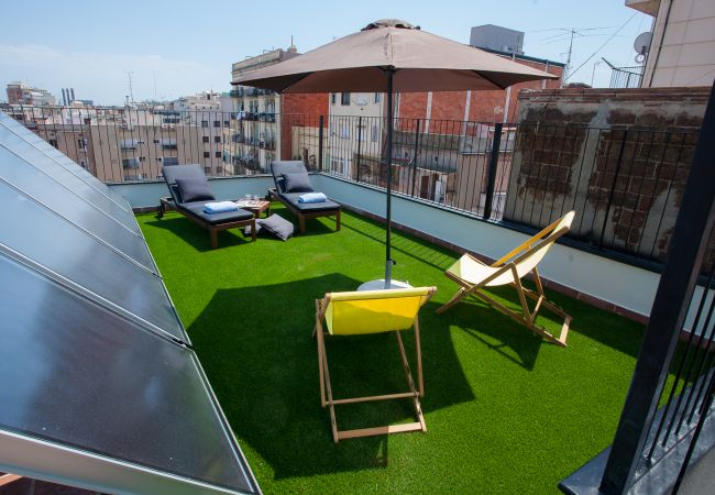 Apartment in Barcelona - ROOF TOP TERRACE